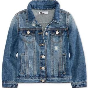 Girl's Epic Threads Distressed Jean Jacket